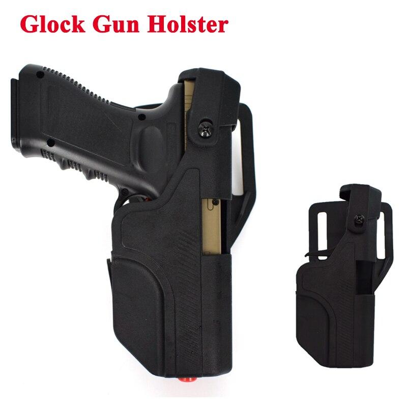 Cinto para Glock Arma de Tiro Militar Gota Rápida Pistola Coldre 17 19 22 23 31 32 Mão Equipamento Caça Cinto