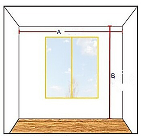 A. Width From Wall To Wall. Curtain Width Better To Be Twice Of A (If You  Want Curtains Hang In Pleats) I.e. Au003d2m. Curtain Width Better To Be 4m.