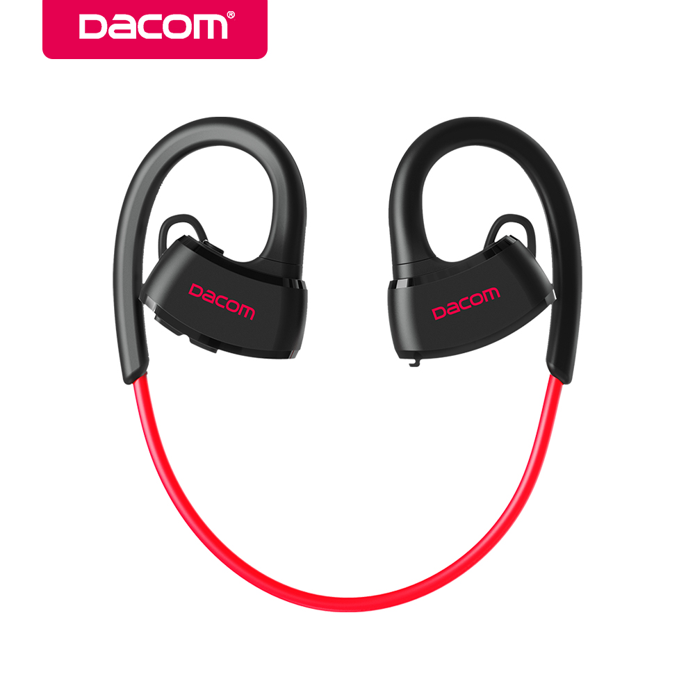 DACOM P10 Bluetooth Headphone IPX7 Waterproof Bluetooth Headset Sports Wireless Earphone Stereo Running Earbuds for iPhone 7 5 6