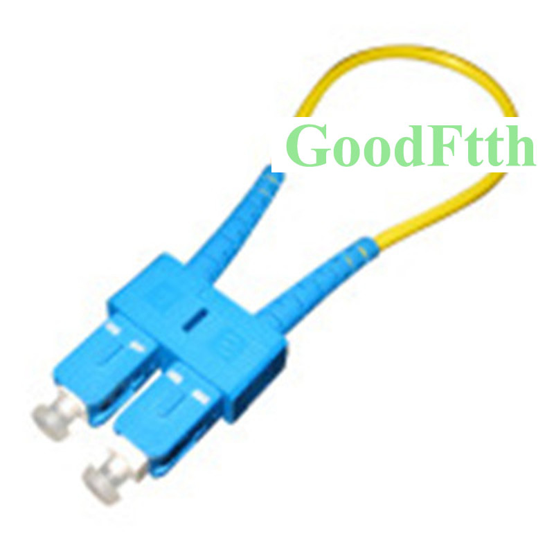 Fiber Optic Loopback Loop Back SC/UPC Singlemode SM GoodFtth 10pcs/lot