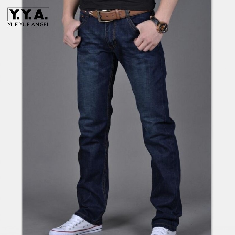 High quality jeans men fashion classic straight brand Slim Fit jeans denim trends trousers for male size 28-38 hombre pantalones male slim fit pants for men fashion motorcyle men s straight jeans denim biker trousers male famous brand plus size 34 52 e492