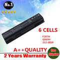WHOLESALE New 6CELLS Laptop Battery For Dell Vostro A840 A860 A860N 1014 1015 Series F287H G069H F286H F287F R988H free shipping