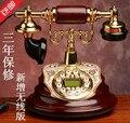 Marca: MYS teléfono de moda de Calidad teléfono antiguo/viejo hogar de moda con cable de teléfono/Identificador de llamadas Manos Libres el envío/luz de fondo