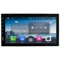 Octa Core 4GB RAM 4G Android 6.0 2Din Universal Car DVD Player Radio For Nissan navara sentra murano qashqai lavina versa tiida