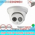 Nova Versão Inglês V5.3.3 Multi Language IR Dome IP Câmera de 4.0 megapixel Câmera IP Câmera Ao Ar Livre DS-2CD2342WD-I