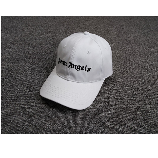 Black/White/Green Palm Angels Caps High quality Palm Angels Text embroidery Hats Men 2019 New Arrival Palm Angels Cap Adjustable
