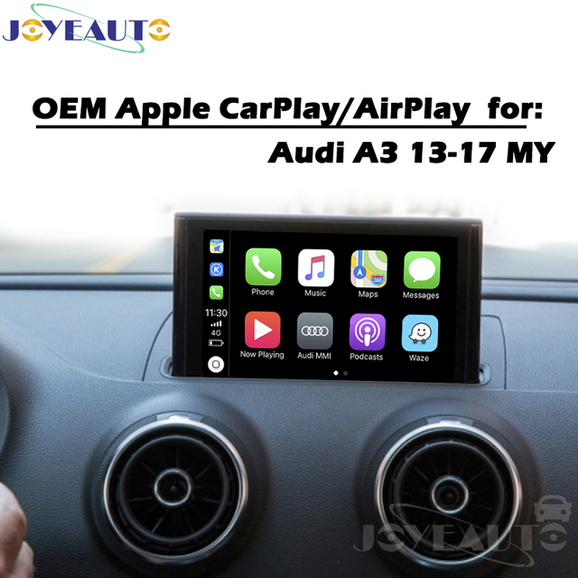 Car Multimedia A3 3g Mmi 13 17my Smart Carplay Box Oem Le Android Auto Ios Airplay Play Retrofit For Audi