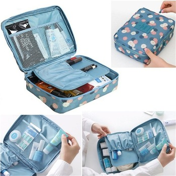 Cosmetic Bags Multifunction wash bag Women Makeup portable Bag toiletry Storage waterproof Travel Bags