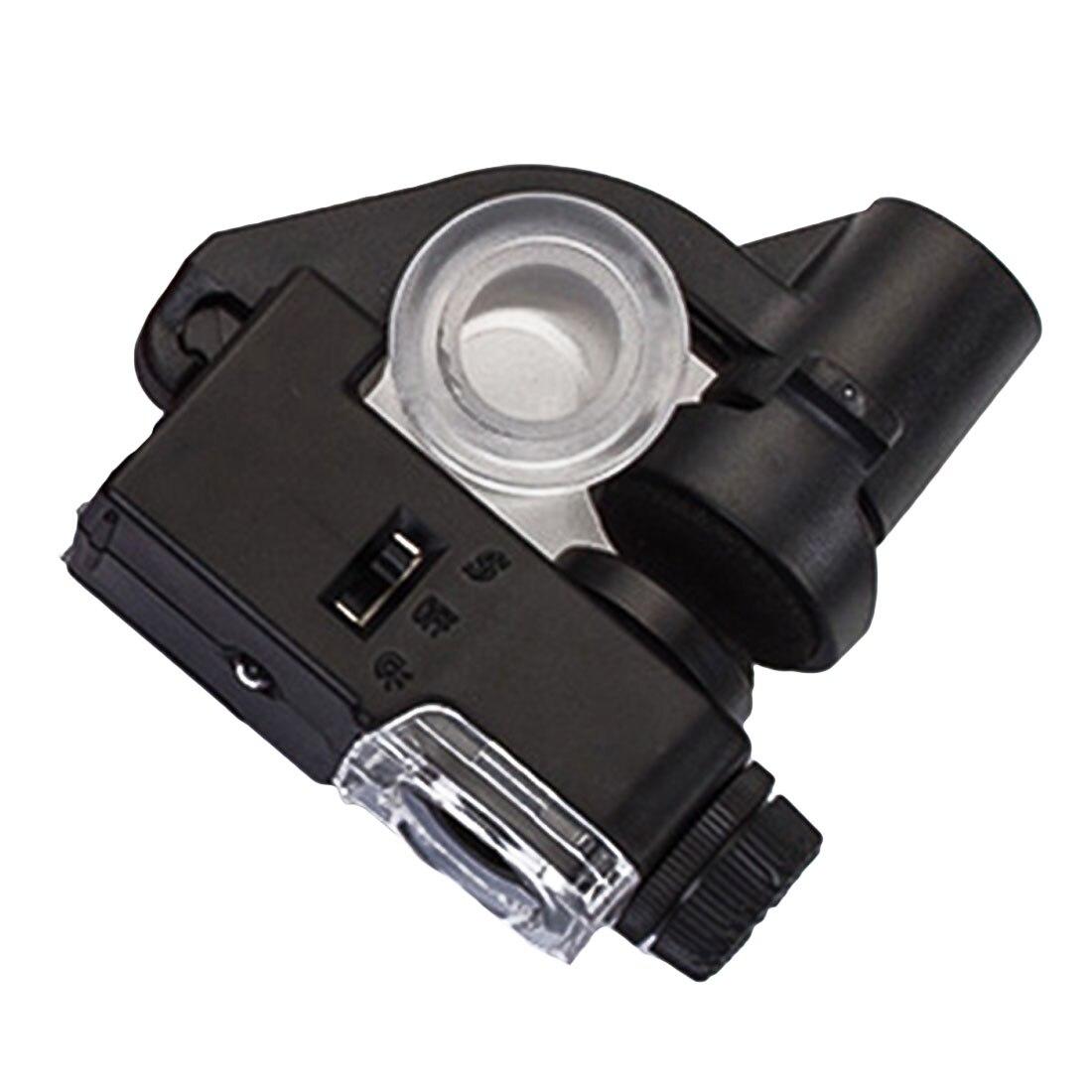 90X макрообъектив для мобильного телефона, микроскоп, увеличительное стекло, светодиодный, инструменты, увеличение с микро-камерой, клипса, оптический зум, лупа