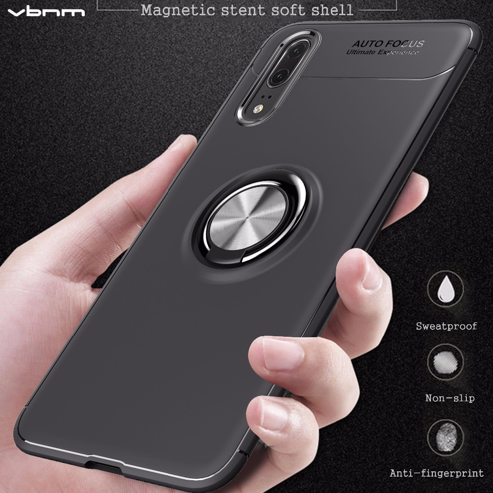 VBNM Soft Silicone Cases For Huawei P20 P10 lite Plus Case Cover For Huawei P9 P8 lite 2017 GR3 Nova 3E lite Shell Cover Coque