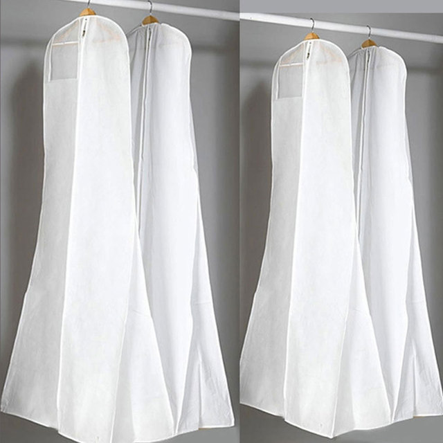 1*Wedding Dress Bags Clothes Cover Dust Cover Garment Bags Bridal ...