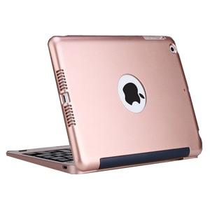 Image 5 - ABS voor iPad mini 2 3 Case met Toetsenbord Cover A1432 A1454 A1599 A1600 USB Bluetooth Draadloze voor iPad mini 2 3 toetsenbord 7.9