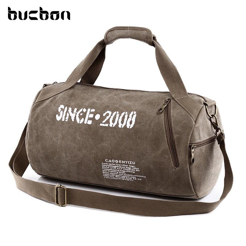 холст спорт сумка мужчин для спортзала прочный многофункциональный сумка спортивная женская для фитнеса женщин плеча кроссбоди путешеств... ...