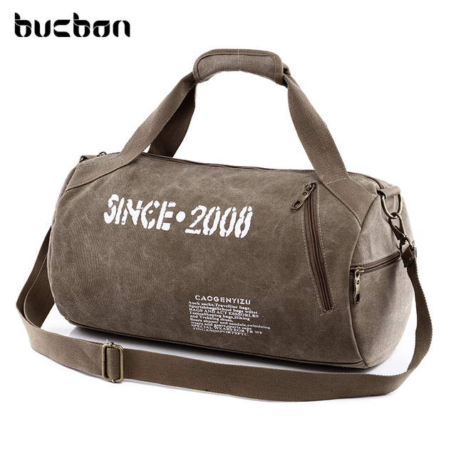 Canvas Sport Bag Training Gym Bag Men Woman Fitness Bags Durable  Multifunction Handbag Outdoor Sporting Tote For Male HAC057 50d7704e9ad94