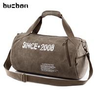 High Quality Durable Multifunction Men Sport Canvas Bag Tote Sport Crossbody Canvas Zipper Sport Duffle Bag