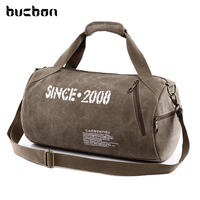 High Quality Durable Multifunction Men Sport Canvas Bag Tote Sport Crossbody Canvas Zipper Sport Duffle Bag