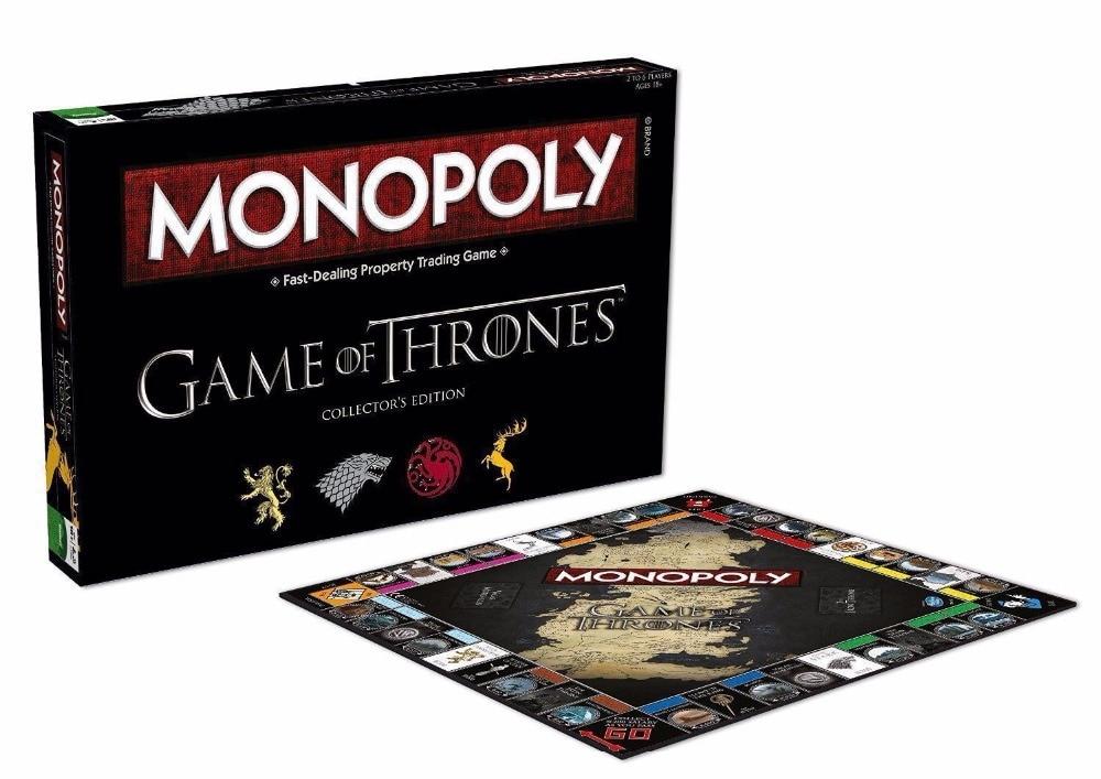 Billede af Game of Thrones Monopoly Board Game English Version