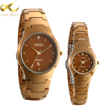 Lancardo New Luxury Brand Lovers Watch Men Women Dress Calen