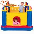 Intex juguetes inflables cama elástica Niño tipo doméstico trampolín trampolín de interior 175*175*135 cm
