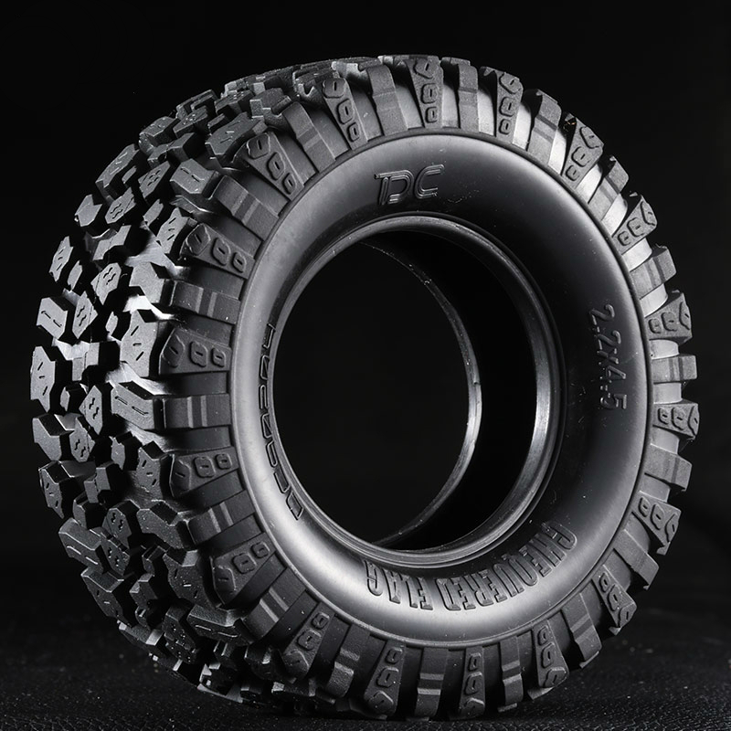 4pcs High Quality Off-Road Rubber Tire & Foam For 1/10 RC Crawler Car Traxxas TRX4 Ford Bronco D90 D110 Scx10 90046 RC4WD CC01 hpi king 1973 ford bronco