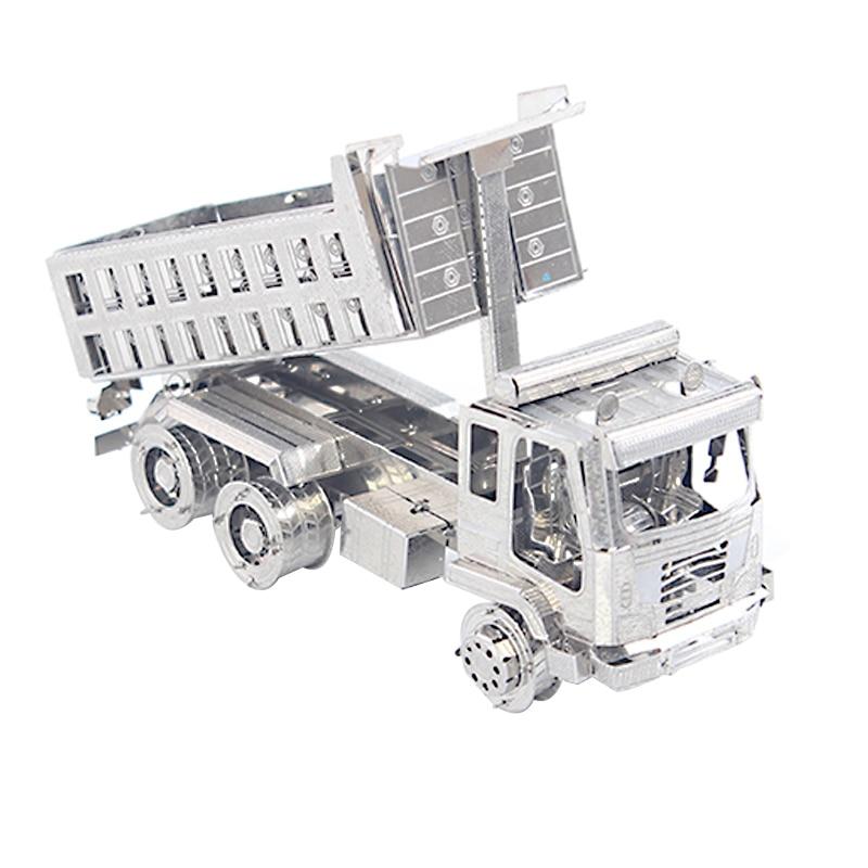 ᗔ3D Metal Puzzle de camión 3d rompecabezas juguete lógica Metal ...