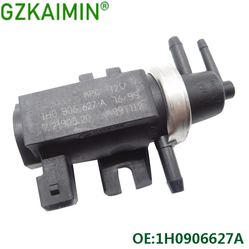 Free Shipping NEW Replacement N75 Boost Valve 1H0906627A For V-W Golf Passat 1.9 TDI  1H0 906 627 A