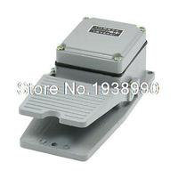 AC380V 5A NO NC Nonslip Metal Momentary Electric Power Foot Pedal Switch w Guard