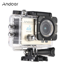 Andoer Action Camera 1080P Ultra-HD LCD Wifi Cam FPV Video Output 16MP Action Camera 170 degree Wide-Angle Lens