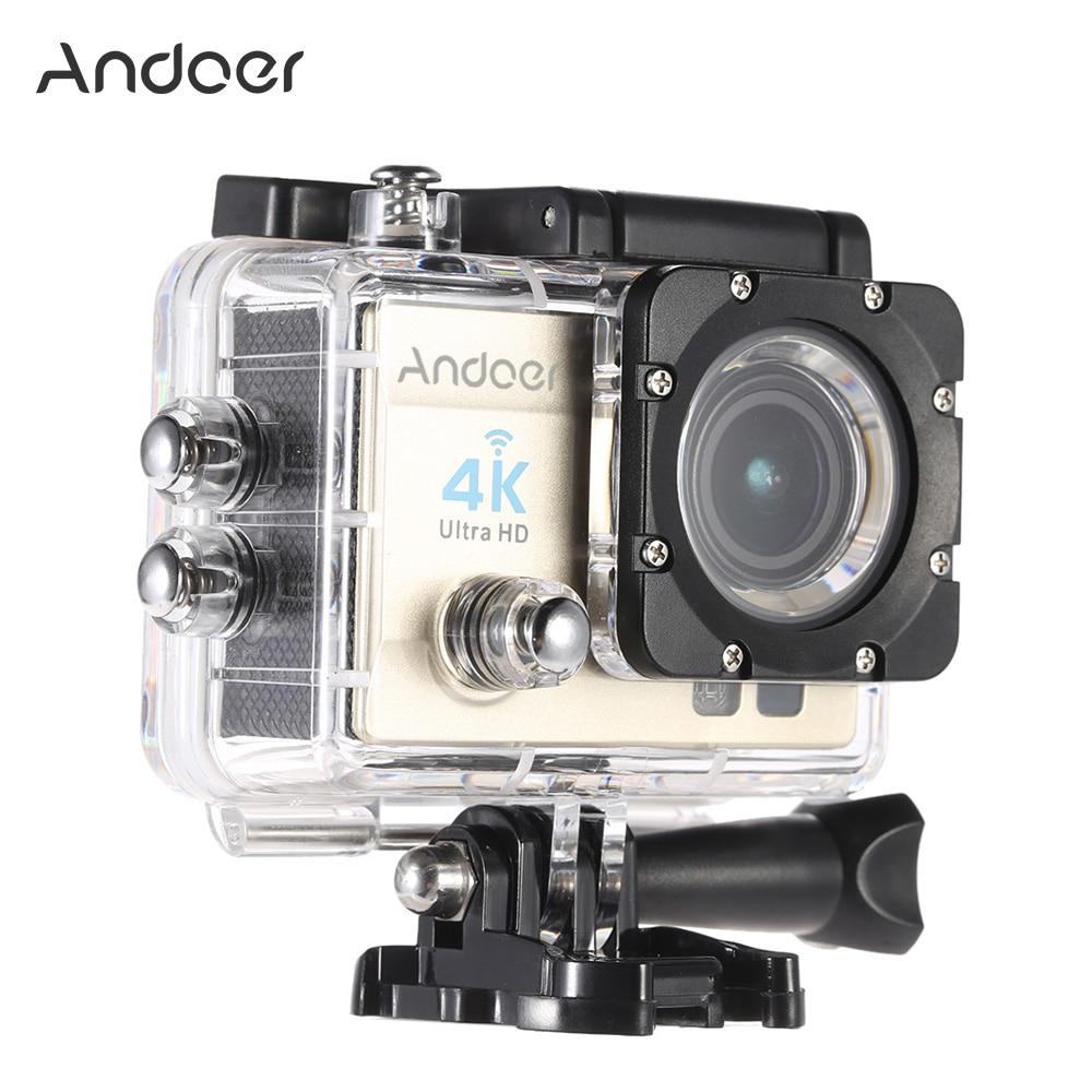 Unterhaltungselektronik winkel Objektiv Diplomatisch Andoer Action Kamera 1080 P Ultra-hd Lcd Wifi Cam Fpv Video Ausgang 16mp Action Kamera 170 Grad Breite
