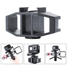 Gopro accessories Vlogging Setup Microphone Bracket w 2 Cold