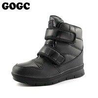 GOGC Warm Men Winter Ankle Boots Brand New Non Slip Winter Men Shoes High Quality Men