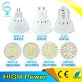 Bombillas LED Lamp GU10 5050 220V LED Bulb E27 2835 Spot Light Lampada LED Lamp MR16 Candle Luz Spot Luz