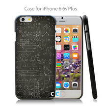 Blackboard math formulas case / cover for iPhone 4 4s 4g 5 5s 5g 5c 6 6g 6 Plus