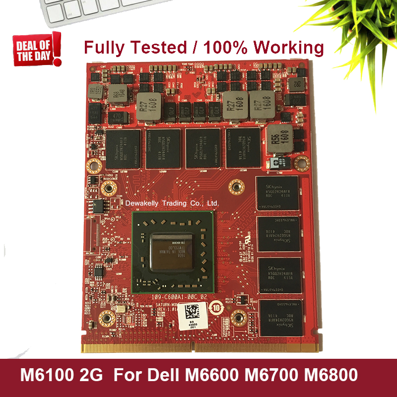 NEW M6100 Video Graphics Card For Dell Precision M6800 M6700 M6600 FirePro K5WCN 0K5WCN CN-0K5WCN Fully Tested 100% Working