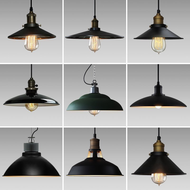 E27 LOFT American industrial country warehouse creative personality single head  Pendant LightE27 LOFT American industrial country warehouse creative personality single head  Pendant Light