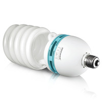 Neewer 85W 220V 5500K Tri Phosphor Spiral CFL Daylight Balanced Light Bulb In E27 Socket For