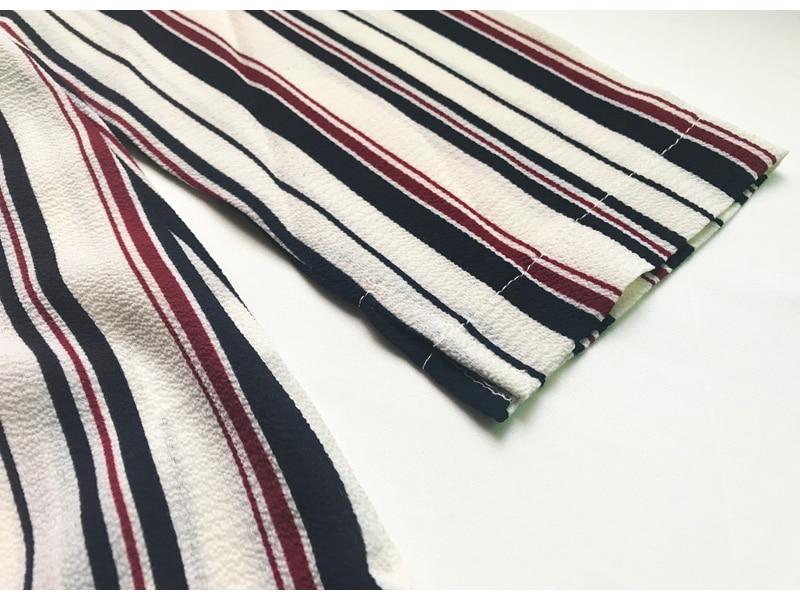 Women Summer Boho Maxi Dresses Large Size Elegant Casual Bohemian Long Stripe Dress Aline Plus Size 2018 Spring 25