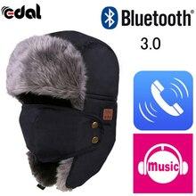 New Design Technology Soft Warm Beanie Hat Wireless Bluetooth Smart Cap Headset Hands Free Ear-Phone Speaker Mic Bluetooth Hat