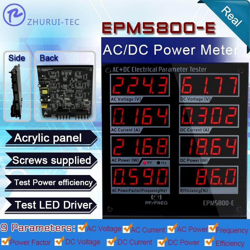 EPM5800-E kintamos / nuolatinės srovės galios matuoklis / vatos - Matavimo prietaisai - Nuotrauka 3
