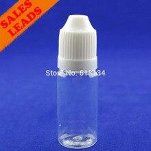 Оптовая продажа 2500 шт 10 мл ПЭТ пластиковая капельница бутылка с детородной крышкой длинный тонкий наконечник, пластиковые бутылки с капельницей бутылка