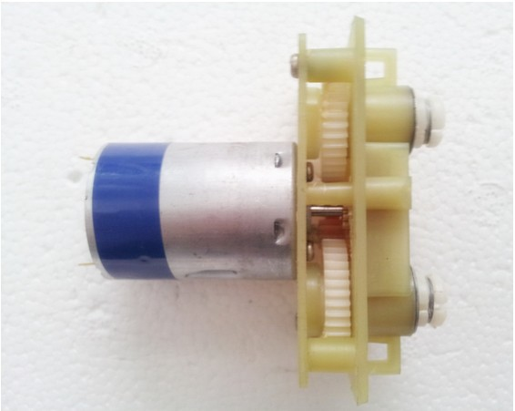 New DC 2V-6V 380 pairs of DC gear motor worm gear box DIY production, toy cars, model To ...