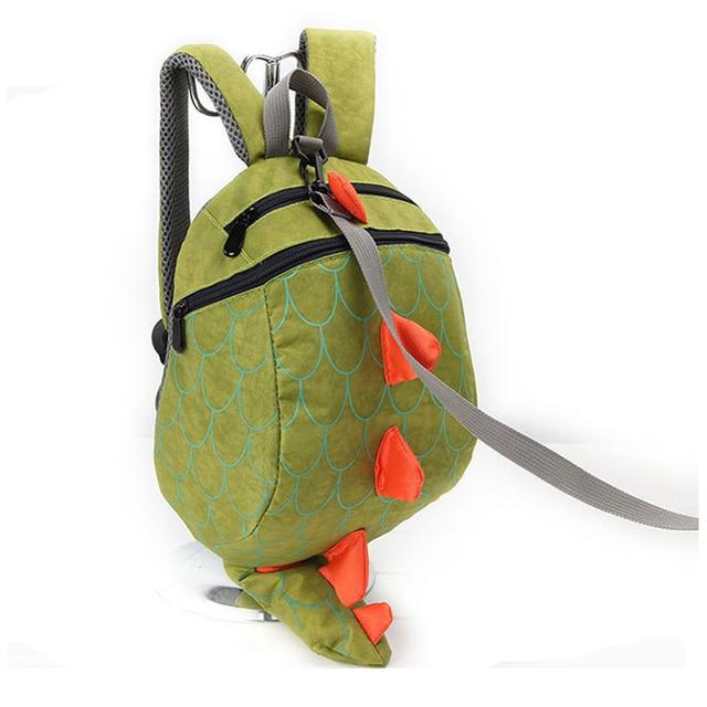 2018 Hot Sale Dinosaur Anti lost backpack for kids Children Backpack aminals Kindergarten School bags for 1-4 years backpacks School Bags