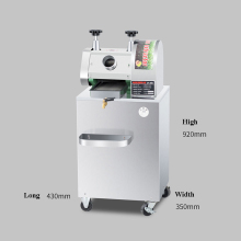 Sugar Juice Making Machine Commercial Automatic Electric Stainless Steel Juicer Vertical Small Sugar Cane SY-300B sugar cane production in zimbabwe