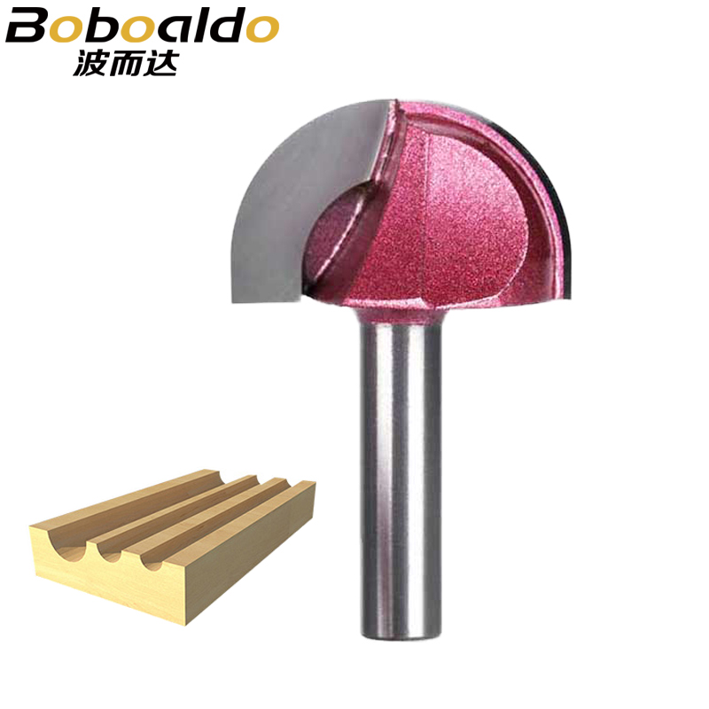 1PCS 8mm Shk Round Router Bits For Wood Cove Box Bit Tungsten Carbide Woodworking Endmill Miiling Cutter Router Cutter