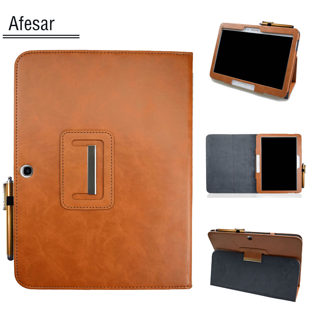 Book-Case Smart-Cover Awake Flip P5210 Gt-P5200 Galaxy Samsung Magnetic For Tab-3/10.1/Gt-p5200/..