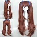 Alta qualidade longo Brown peruca outro Akazawa Izumi cabelo sintético Anime Cosplay peruca Cos perucas + fita