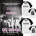 ALLKPOPER Kpop BLACKPINK SQUARE ONE Raglan Sleeve T-shirt Unisex Tshirt Cotton