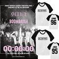 Kpop ALLKPOPER BLACKPINK SQUARE ONE T-shirt Manga Raglan Unisex Camiseta de Algodão