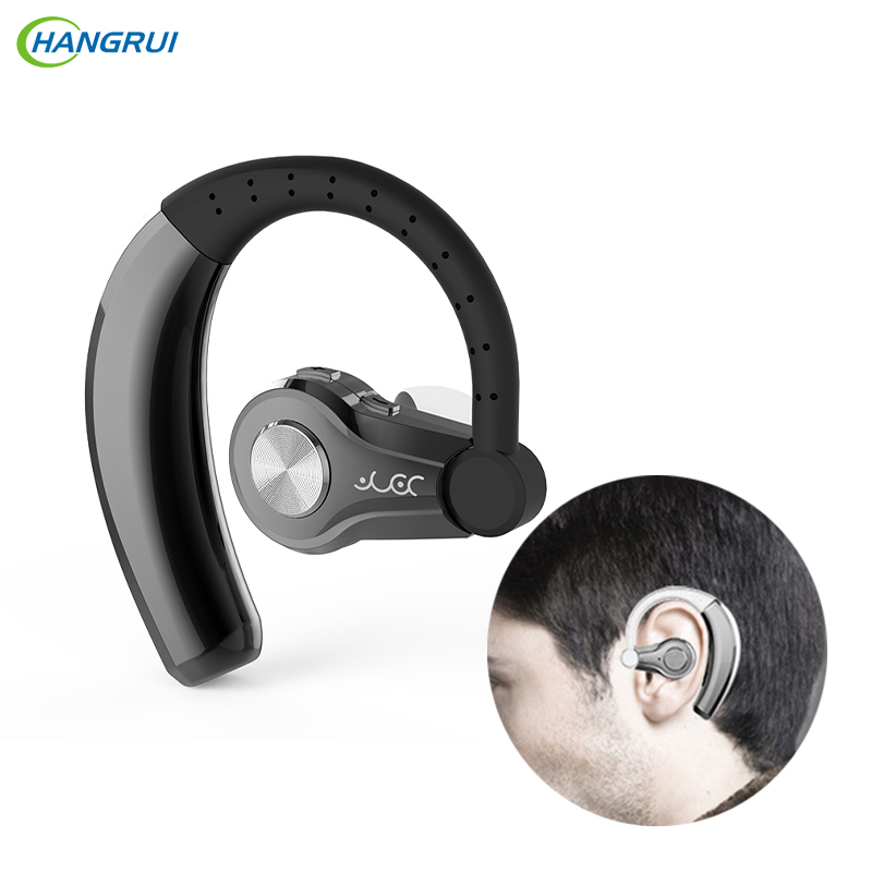 HANGRUI Bluetooth Earphone Wireless Headphones V4.1 Hands free bluetooth stereo headset with MIC Car earphones for Smartphones airersi k6 business bluetooth headset smart car call wireless earphone with microphone hands free and headphones storage box