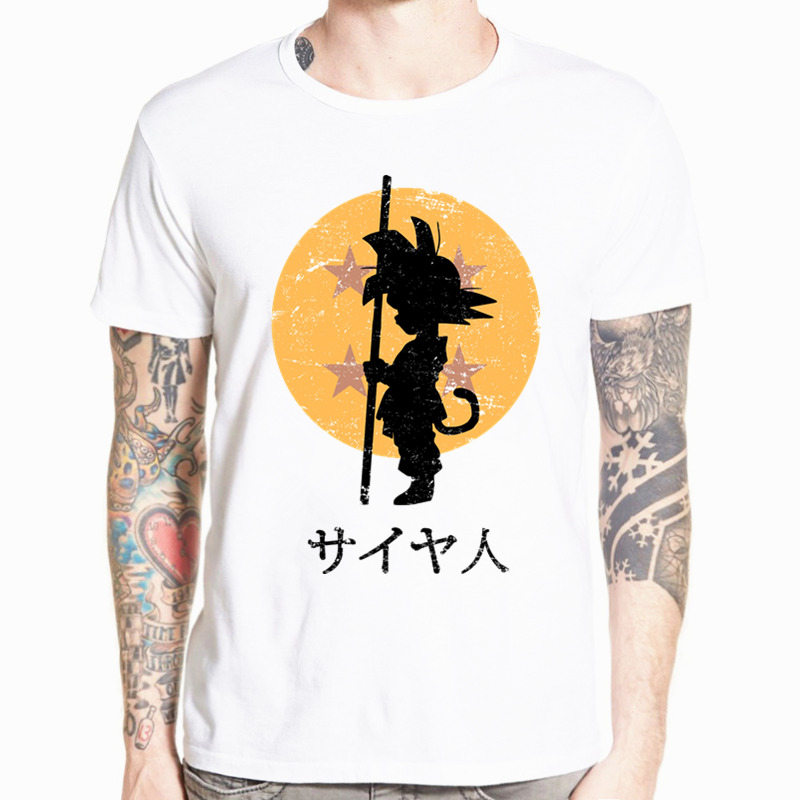 Dragon Ball Z GT Super Saiyan Son Goku Vegeta Anime DragonBall   T     shirt   Short sleeve O-Neck   T  -  shirt   Summer Tshirt HCP4468
